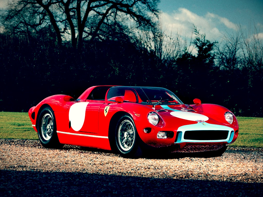 race car for sale 1964 ferrari 330 p ex graham hill retro race. Black Bedroom Furniture Sets. Home Design Ideas