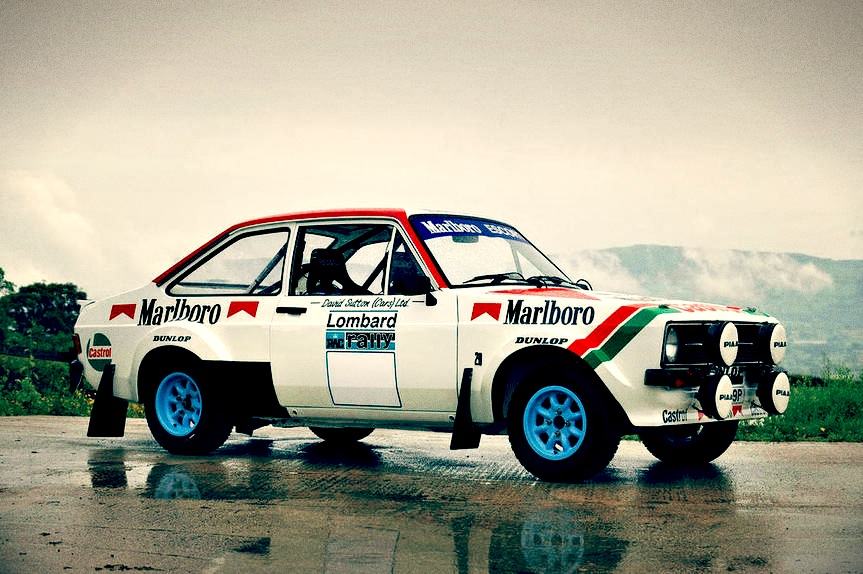 Rally Car For Sale 1975 Ford Escort Rs1800 Retro Race Cars