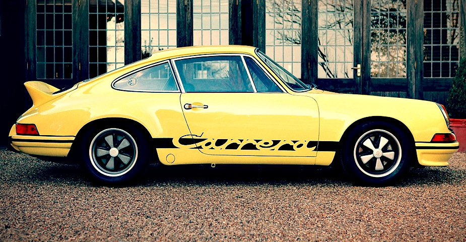 race car for sale 1973 porsche 911 carrera 2 7 rs lightweight retro race cars. Black Bedroom Furniture Sets. Home Design Ideas