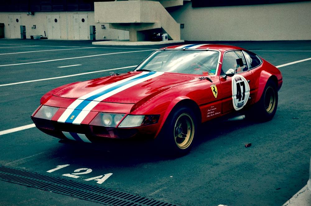 Race Car Ferrari Daytona
