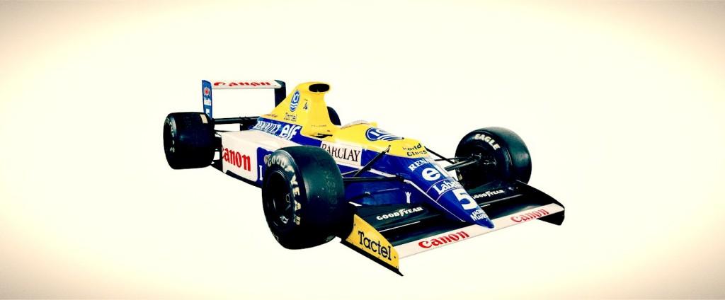 F1 Car For Sale 1990 Williams Renault Fw13b Retro Race