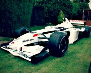 Old F1 Car for Sale – 2001 BAR Honda 003 Ex Villeneuve