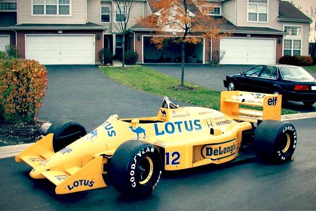 f1 car for sale 1987 lotus 99t ex ayrton senna   retro race cars