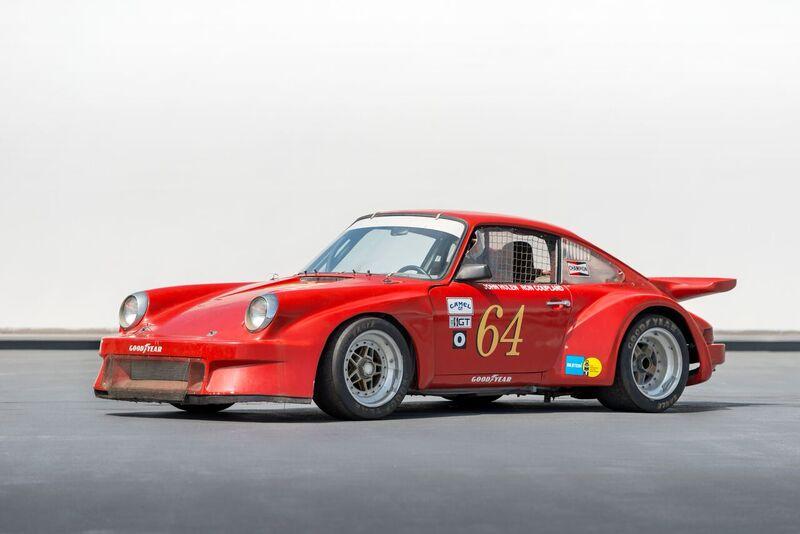 Race Car For Sale 1973 Porsche 911 Imsa Racecar Retro