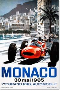 Poster Art – MONACO GRAND PRIX 1965