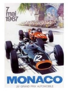 Poster Art – Monaco Grand Prix 1967