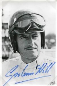 #F1 memorabilia – Graham Hill Autograph