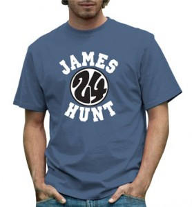 Cool Classic #F1 T-Shirt for British F1 Legend James Hunt