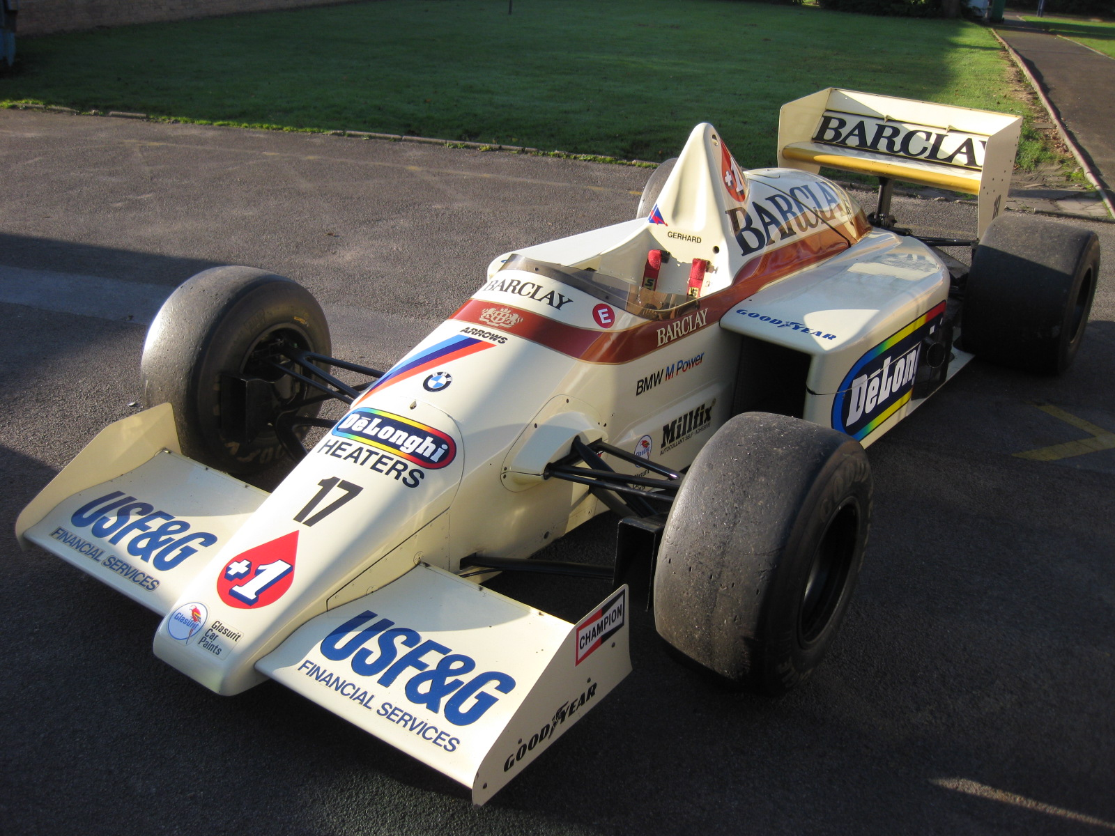 Classic F1 Car For Sale 1985 Arrows A8 Retro Race Cars