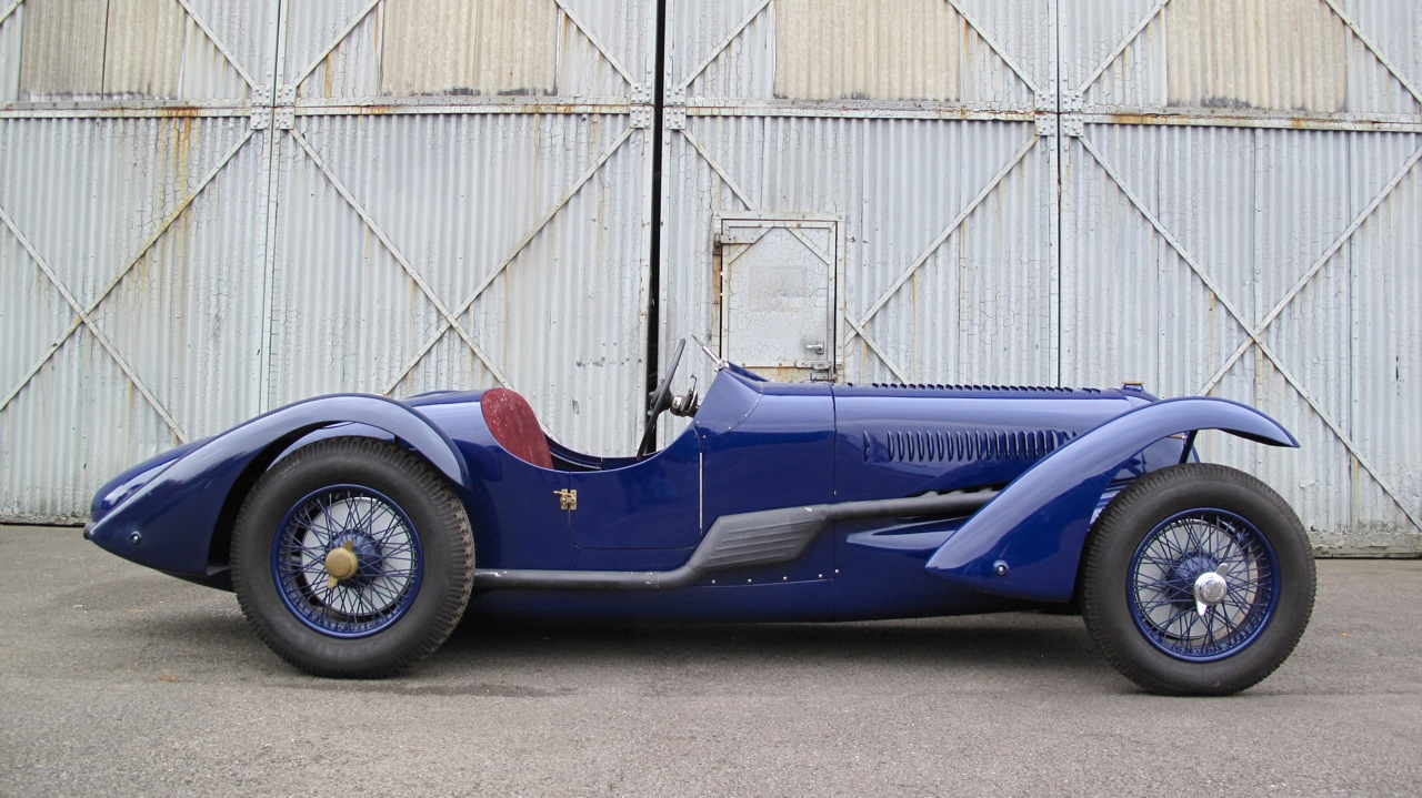It\'s not a classic #f1 car but #no13 1936 Talbot Lago - Retro Race Cars