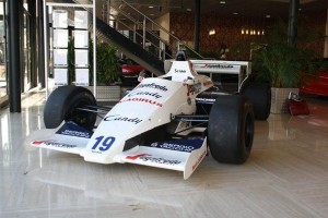 Classic #f1 Car For Sale – 1984 Toleman TG184-2 Ayrton Senna's First F1 Race Car