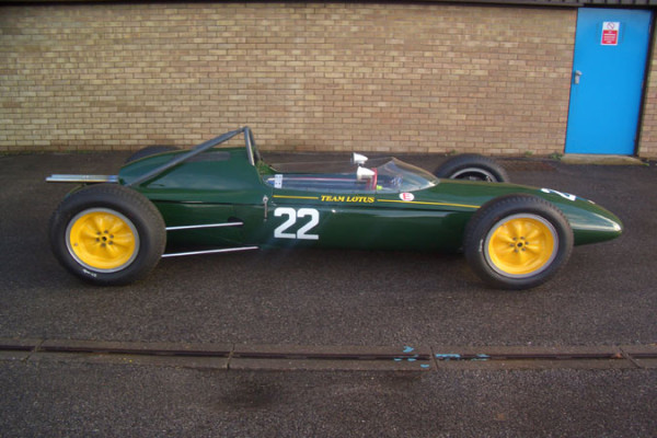 Classic Formula One Car For Sale – 1962 Lotus 24