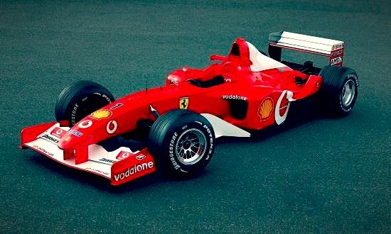 F1 Car - 2002 Ferrari F2002
