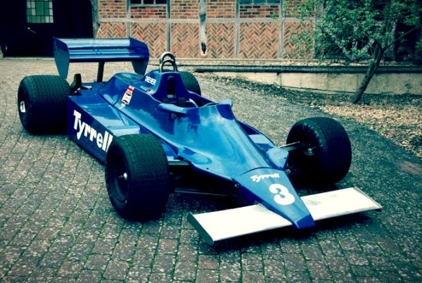 Classic #f1 Car - 1980 Tyrrell 010
