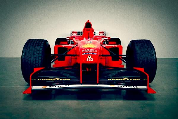 Classic F1 Car - Ferrari F300