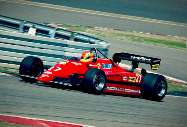 Clic #f1 Car For Sale - 1982 Ferrari 126 C 2 - Ex Gilles ...