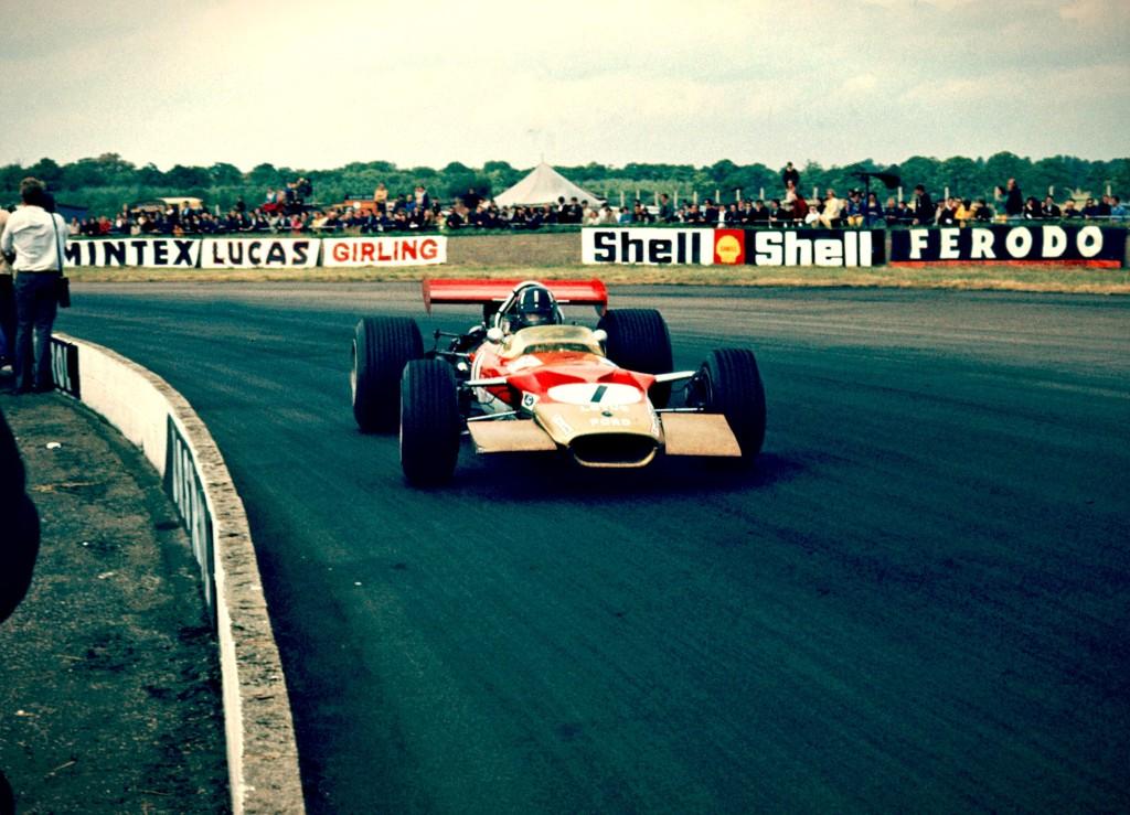 Classic #f1 Car 1968 Lotus 49B / R8 - Ex Graham Hill Car