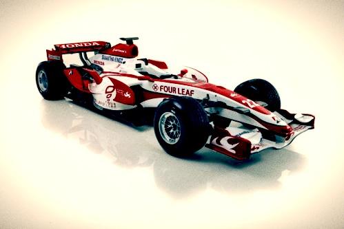 Found on ebay - Super Aguri 2007 F1 Anthony Davidson race car