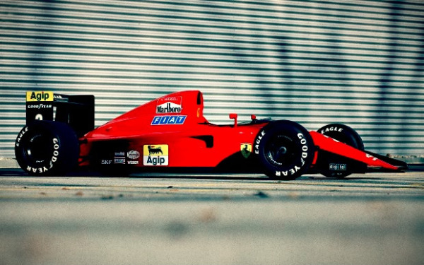 Classic F1 Car For Sale 1990 Ferrari 641 2 Ex Nigel