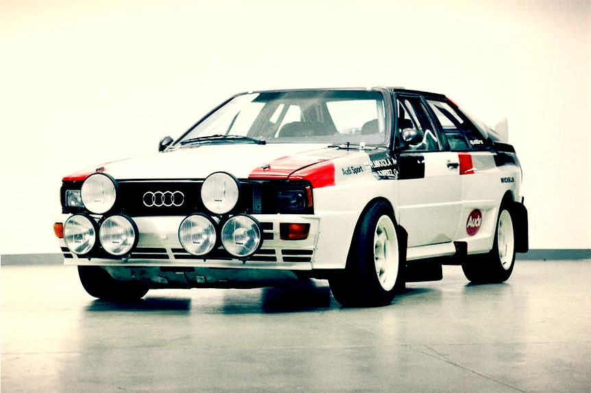 Rally Car for sale - 1982 Audi Quattro A1 - Retro Race Cars