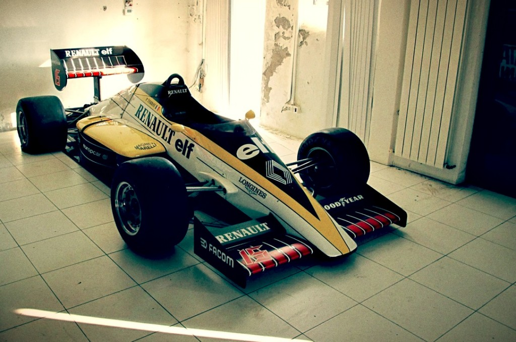 Old F1 Car for sale - 1985 Renault RE60 - Retro Race Cars