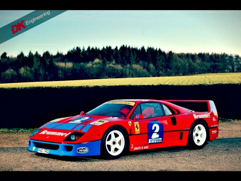 Race Car For Sale 1990 Ferrari F40 Gt Retro Race Cars