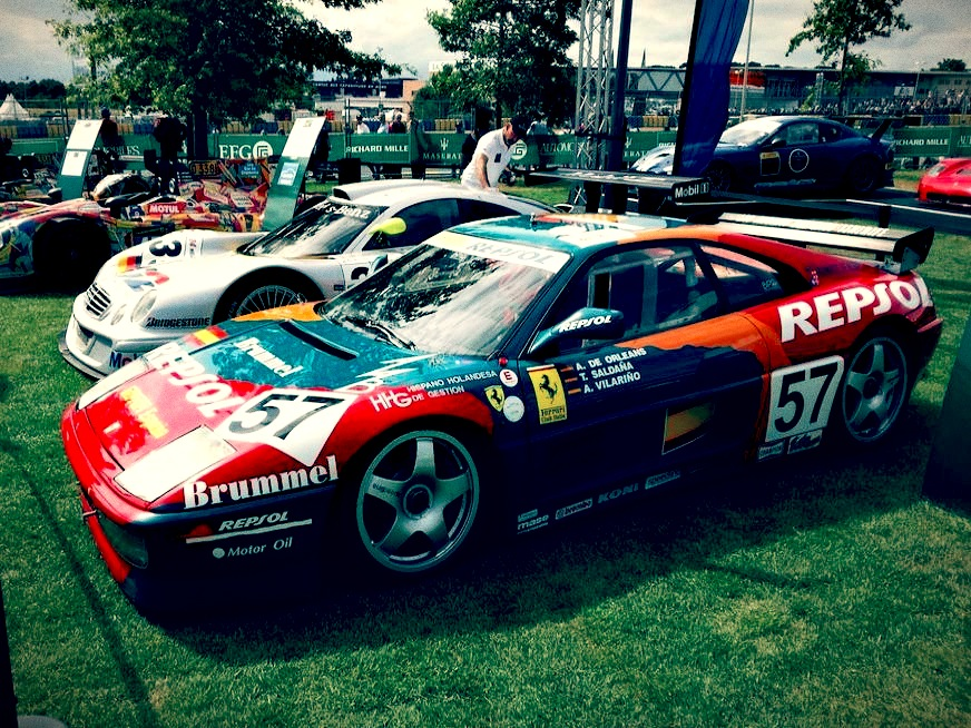Race Car for sale – 1993 Ferrari 348 GTC / LM - Retro Race Cars