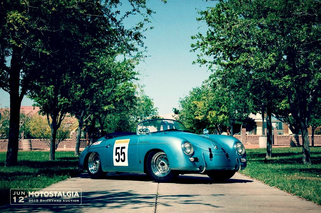 Race Car For Sale 1955 Porsche 356 Speedster Competition
