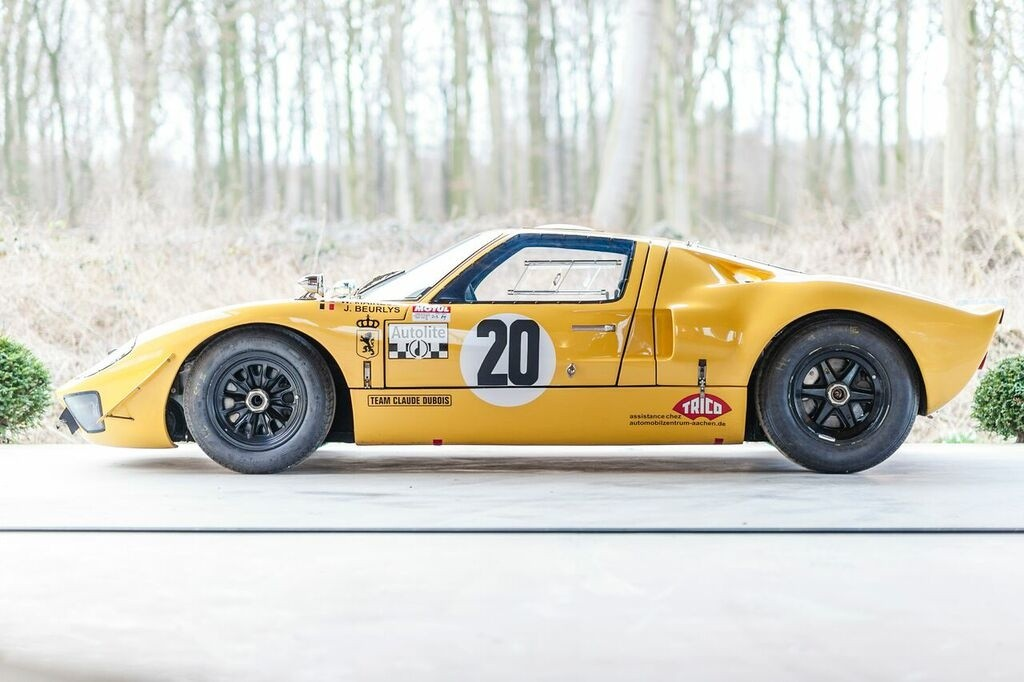 Race Car for Sale - 1968 Ford GT40 Le Mans car - Retro Race Cars