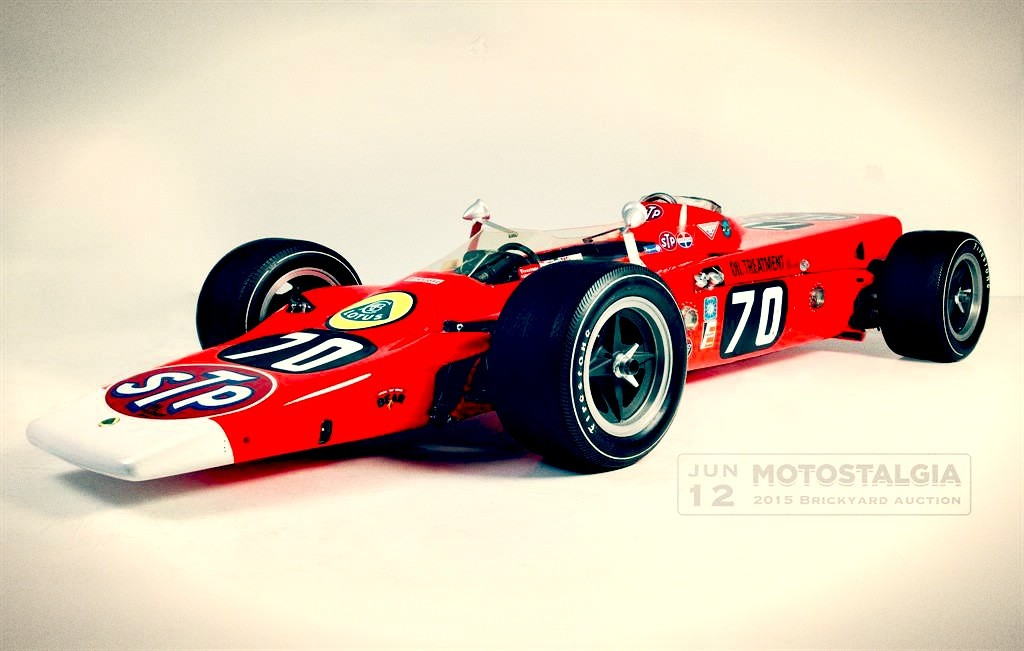 1968 lotus turnine indy 500 race car