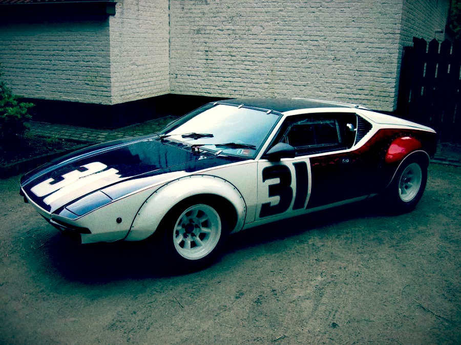 race car for sale de tomaso pantera group 4 works car retro race cars. Black Bedroom Furniture Sets. Home Design Ideas