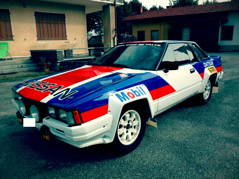Rally Car For Sale – 1983 Nissan 240 RS Evolution Group B - Retro ...