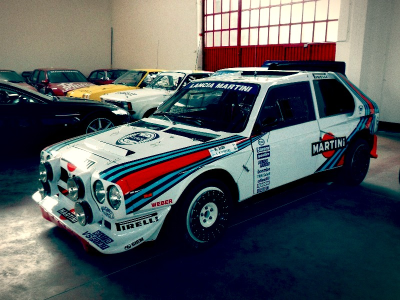 Rally Car For Sale - 1985 Lancia Delta S4 Group B - Retro Race Cars