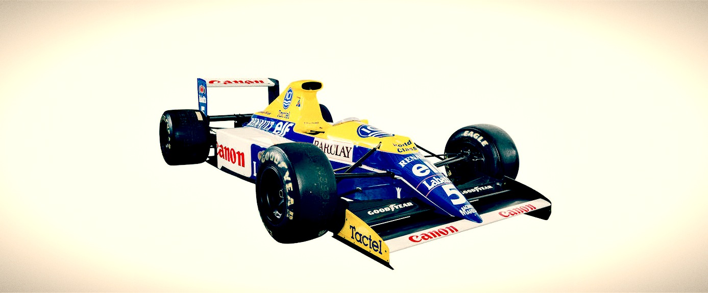 F1 Car For Sale 1990 Williams Renault Fw13b Retro Race