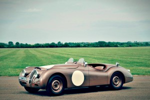 Race Car for Sale – 1950 Jaguar XK120 Roadster