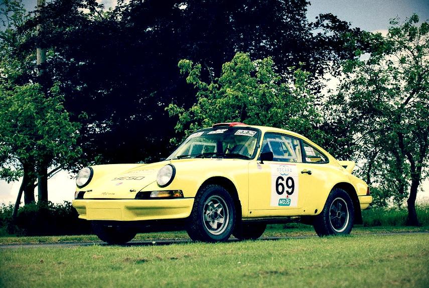 1970 porsche 911 rally car