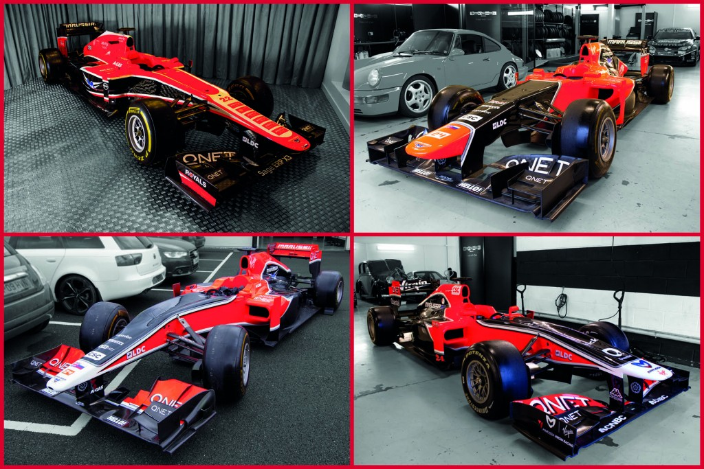 F1 Cars for Sale – 4 Virgin/Marussia cars from 2010 to 2013 - Retro ...