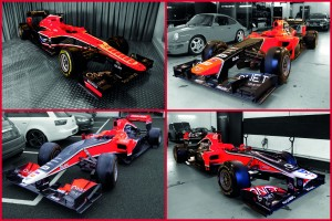F1 Cars for Sale – 4 Virgin/Marussia cars from 2010 to 2013