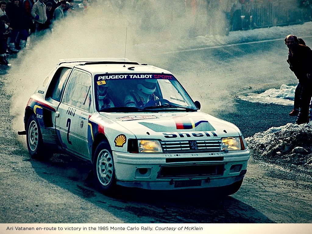 Rally Car for Sale – 1984 Peugeot 205 Turbo 16 Evolution 1 Group B ...