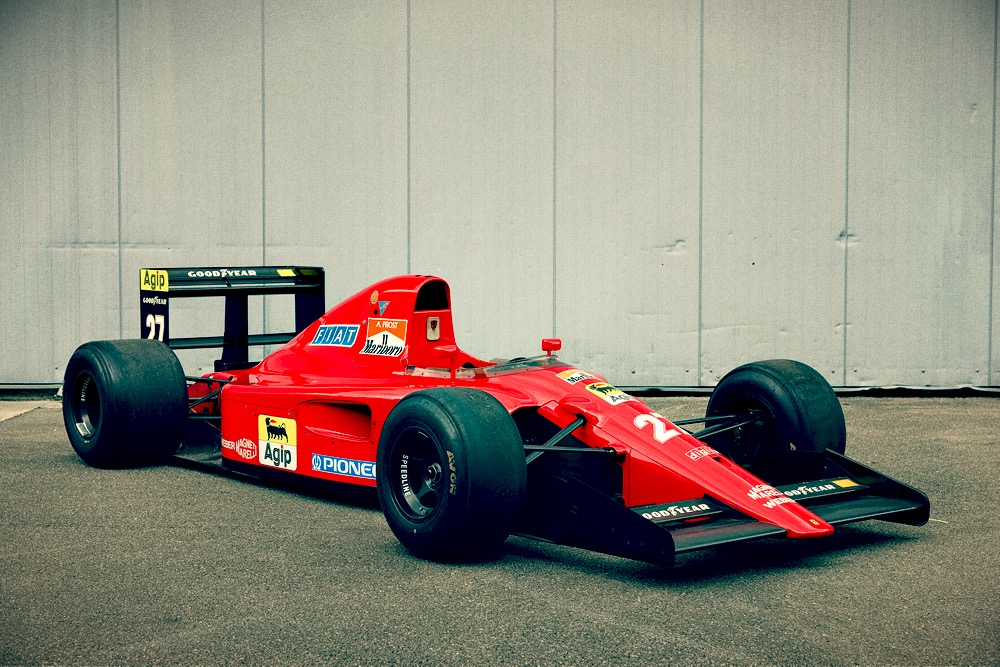F1 Car for Sale – 1991 Ferrari F1-91 (Type 642) - Retro Race Cars